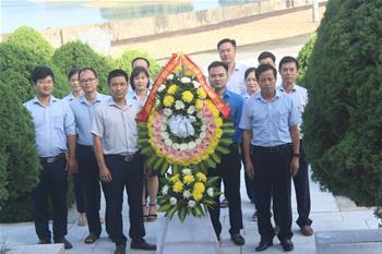 Hoạt động kỷ niệm 74 năm ngày Thương binh - Liệt sỹ tại Công ty cổ phần thủy điện Thác Bà
